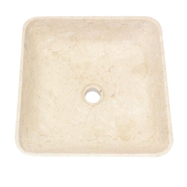 Kwadratowa umywalka z marmuru 4
