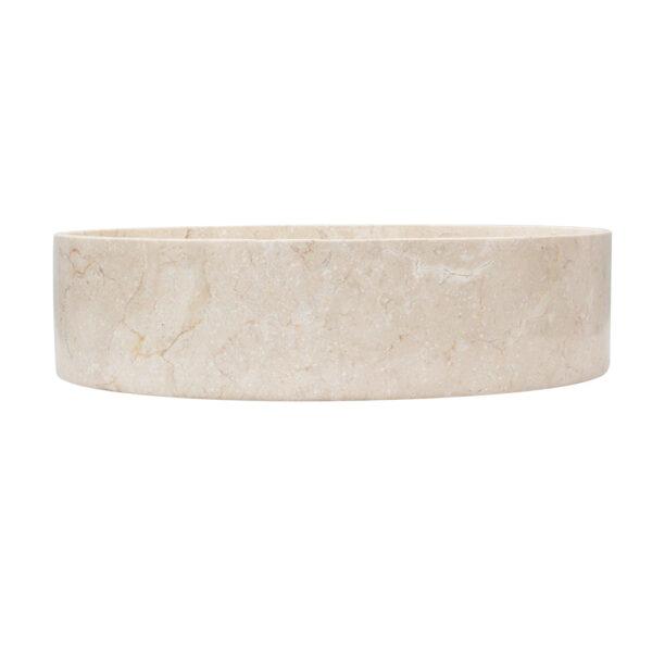 Owalna umywalka marmurowa 1