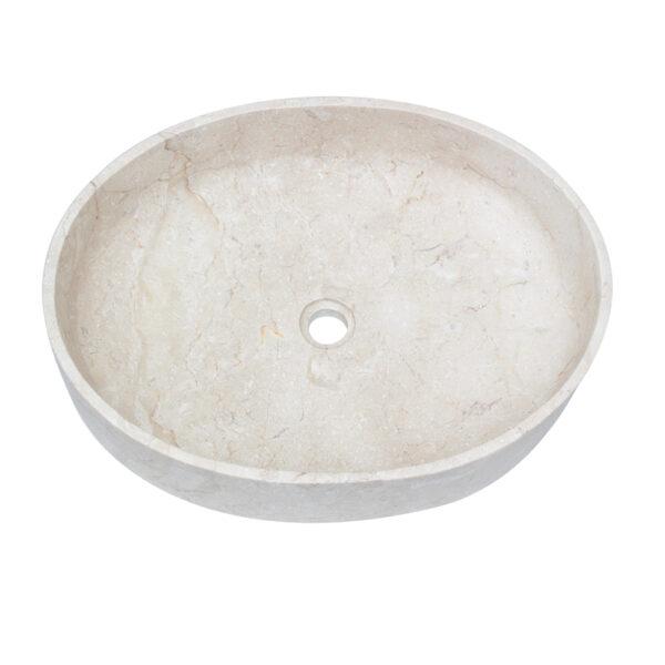 Owalna umywalka marmurowa 4