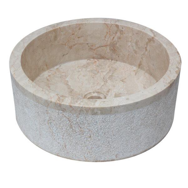 Umywalka z kamienia na blat 1