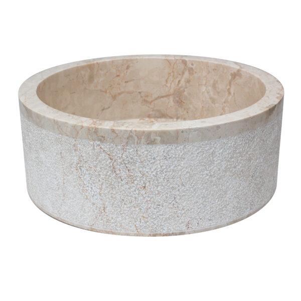 Umywalka z kamienia na blat 2