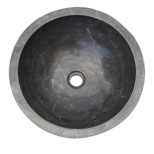 Czarna umywalka z marmuru 1