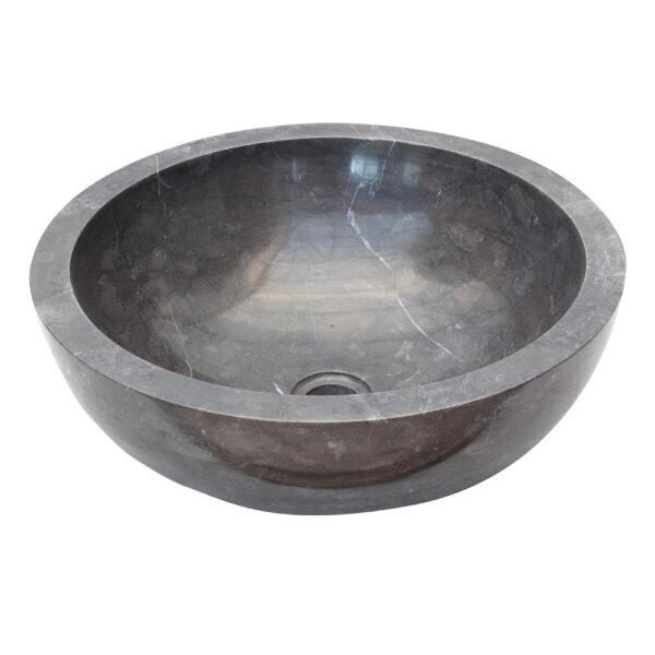 Czarna umywalka z marmuru 2
