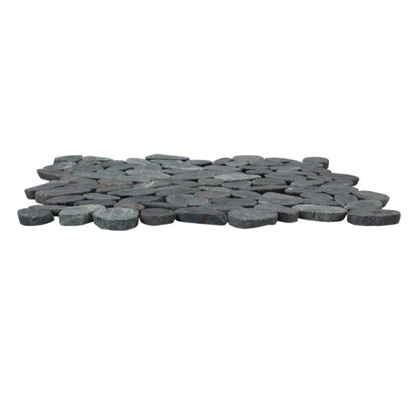 Czarne Otoczaki na siatce mozaika 1