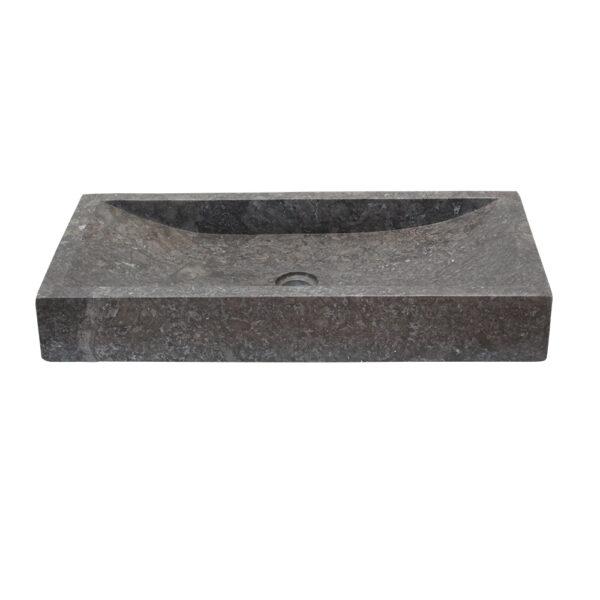 Dluga Umywalka z kamienia na blat 1
