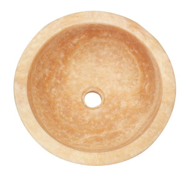 Kamienna umywalka z onyksu 1