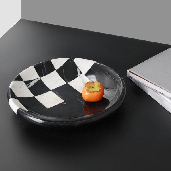 Luksusowa podstawka na owoce z kamienia 1