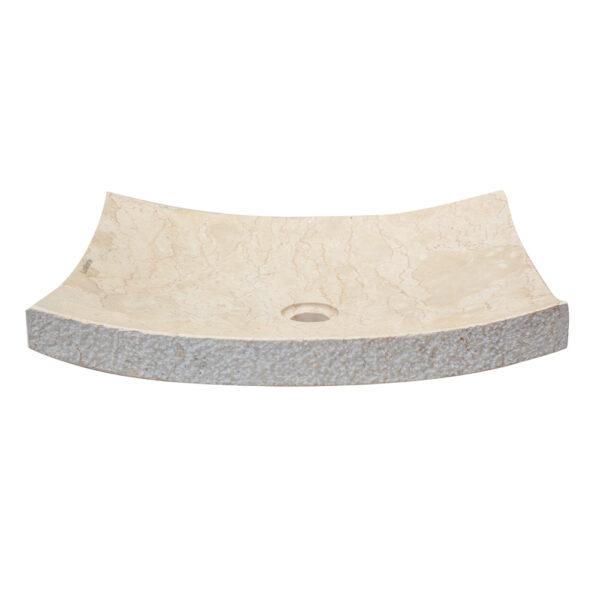 Plaska umywalka z marmuru 2
