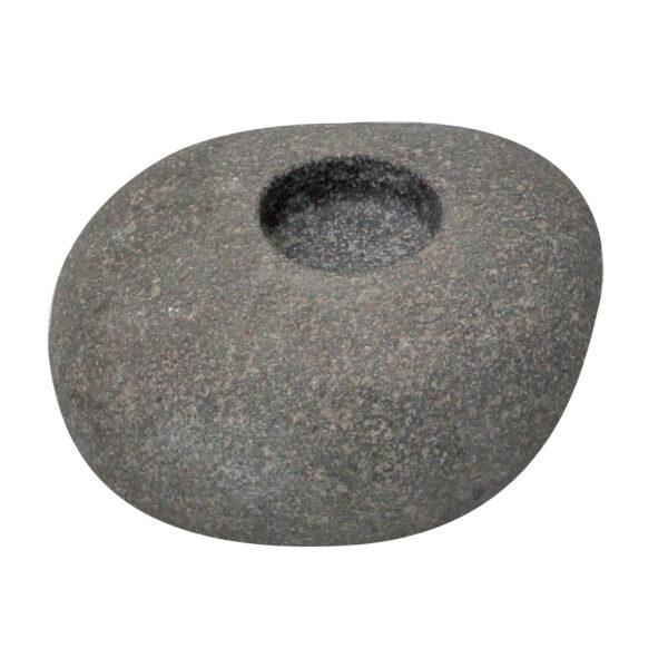Swiecznik z kamienia otoczaka 4