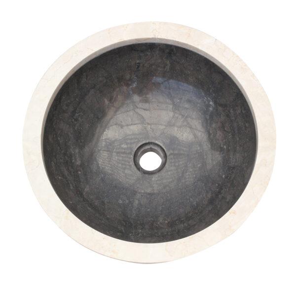 Umywalka z kamienia na blat do lazienki 2