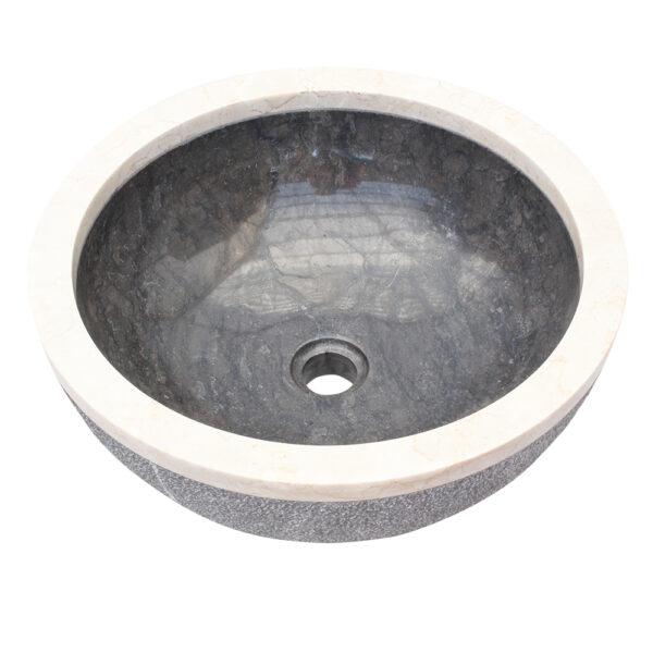 Umywalka z kamienia na blat do lazienki 3