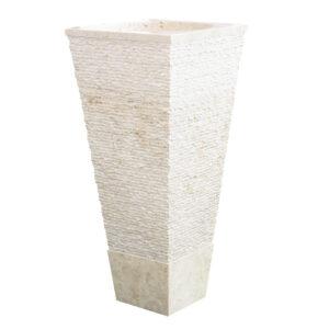 Wolnostojaca umywalka z marmuru CRL142 3