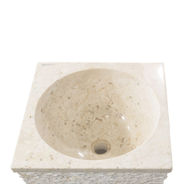 Wolnostojaca umywalka z marmuru CRL142 5