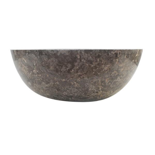 Kamienna umywalka z szarego marmuru 2
