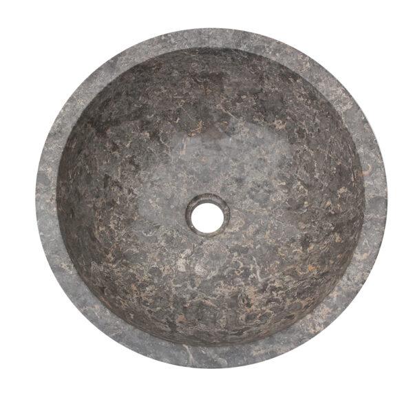 Kamienna umywalka z szarego marmuru 3