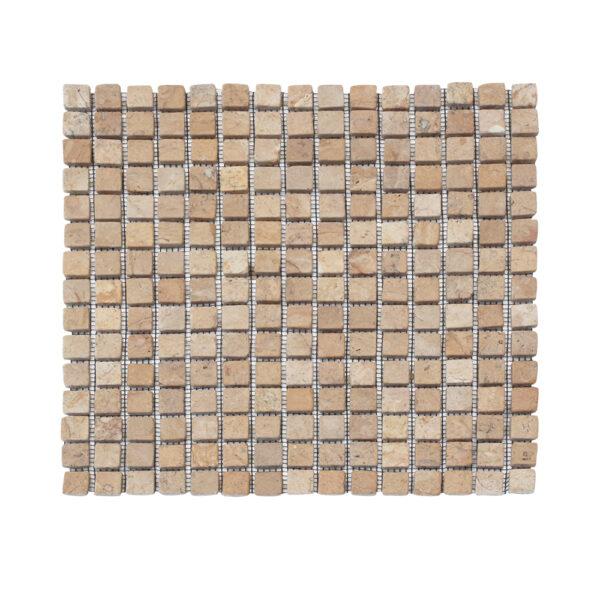 Kwadratowa mozaika z marmuru 1