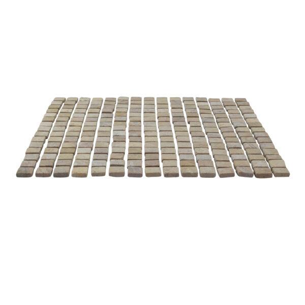 Kwadratowa mozaika z marmuru 2