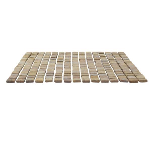 Kwadratowa mozaika z marmuru 3