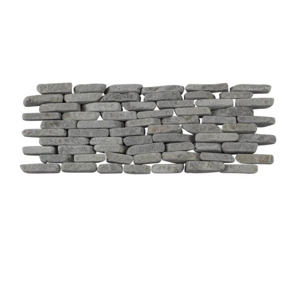 Mozaika na sciany z popielaty marmur 1