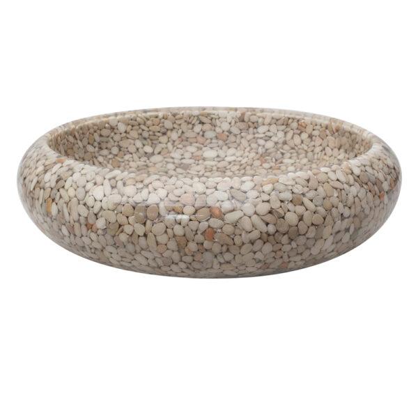Umywalka na blat z otoczakow 3