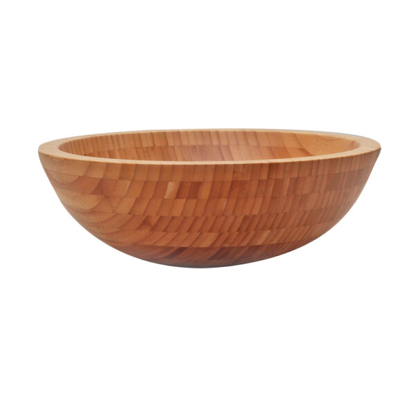 Umywalka z drewna bambus 2