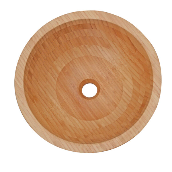 Umywalka z drewna bambus 4