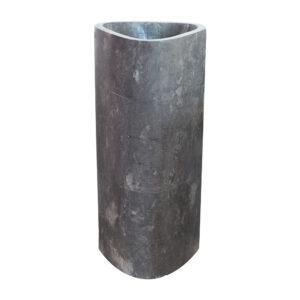 Czarna umywalka stojaca z marmuru 4