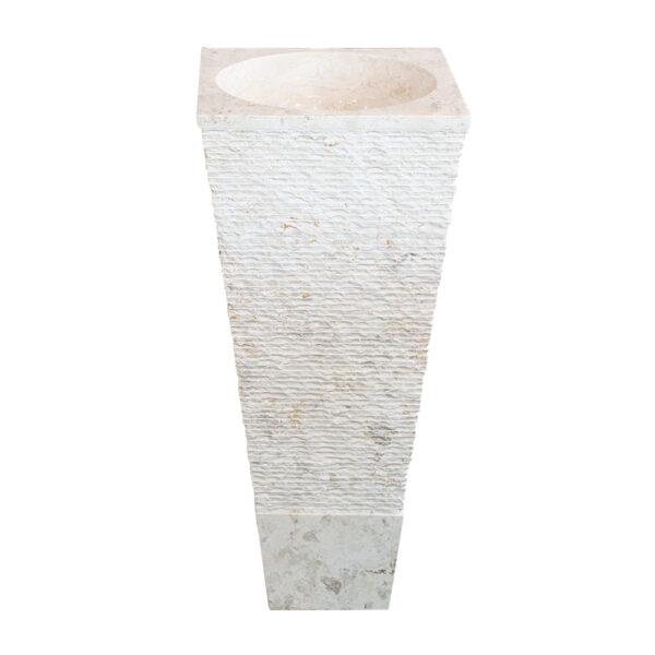 Stojaca umywalka z marmuru 3