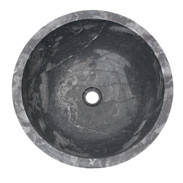Umywalka z czarnego marmuru 1