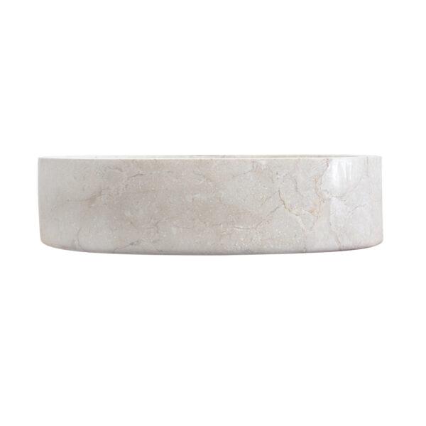 Owalna umywalka z marmuru 1