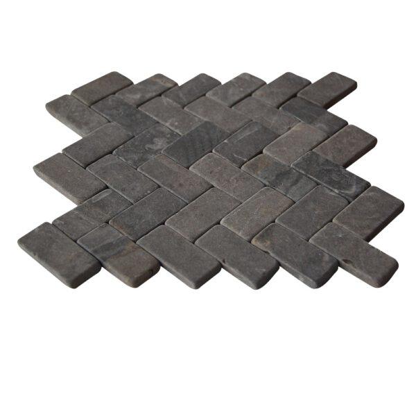 Mozaika marmurowa parkiet 2