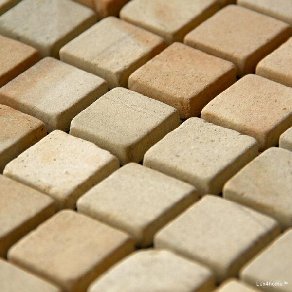 Mozaika z zoltego piaskowca 1