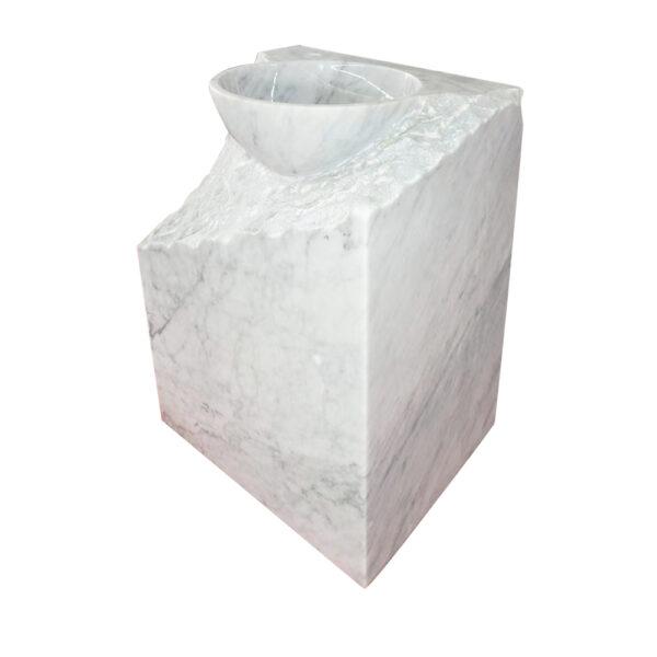 Kamienna Umywalka Carrara Mars 2