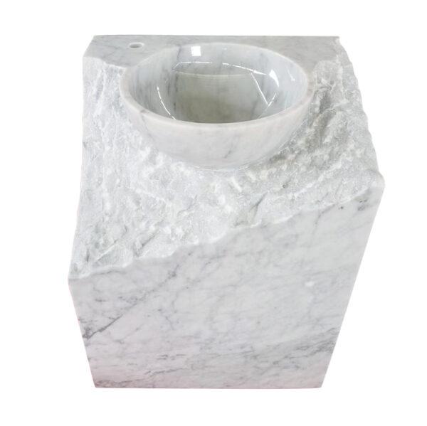 Kamienna Umywalka Carrara Mars 3