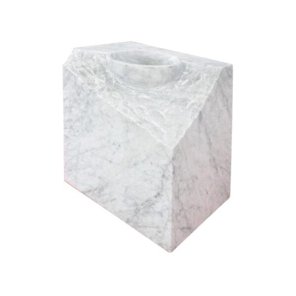 Kamienna Umywalka Carrara Mars 4