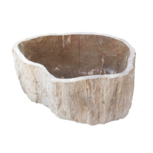 Skamieniale drewno umywalka kamienna 3