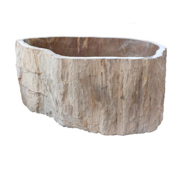Skamieniale drewno umywalka kamienna 4
