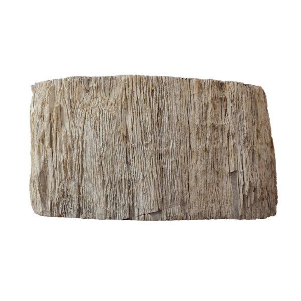 Wysoka umywalka ze skamienialego drewna 3
